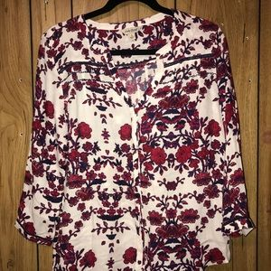 Lucky Brand Blouse Size S
